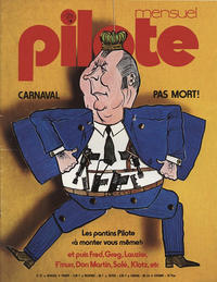 Cover Thumbnail for Pilote Mensuel (Dargaud, 1974 series) #22