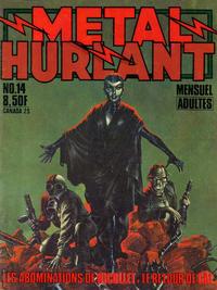 Cover Thumbnail for Métal Hurlant (Les Humanoïdes Associés, 1975 series) #14