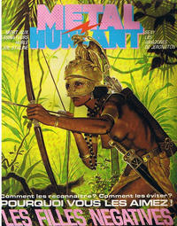 Cover Thumbnail for Métal Hurlant (Les Humanoïdes Associés, 1975 series) #92