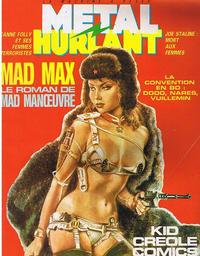 Cover Thumbnail for Métal Hurlant (Les Humanoïdes Associés, 1975 series) #93