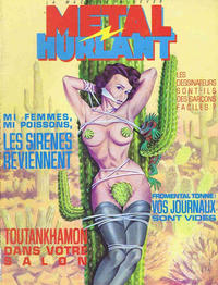 Cover for Métal Hurlant (Les Humanoïdes Associés, 1975 series) #102