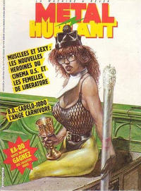 Cover for Métal Hurlant (Les Humanoïdes Associés, 1975 series) #112