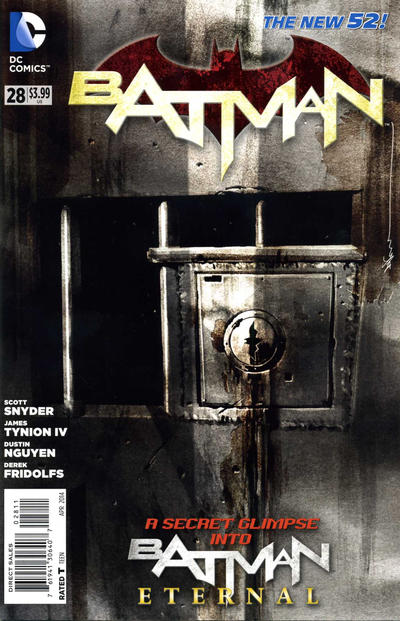 Cover for Batman (DC, 2011 series) #28 [Combo-Pack]