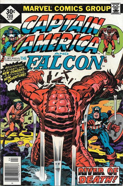 Cover for Captain America (Marvel, 1968 series) #208 [Regular Edition]