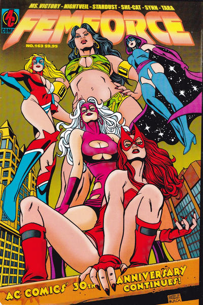 Cover for FemForce (AC, 1985 series) #163