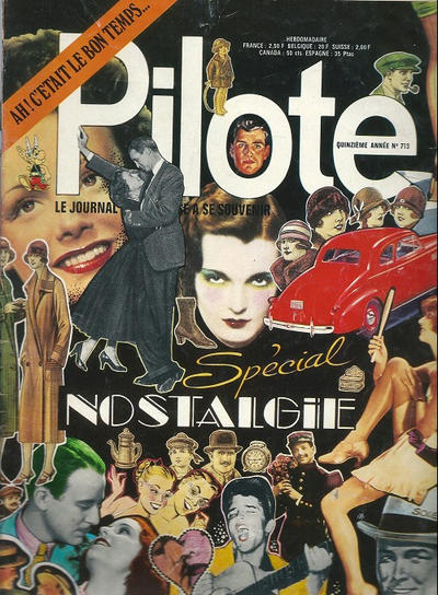 Cover for Pilote (Dargaud, 1960 series) #713