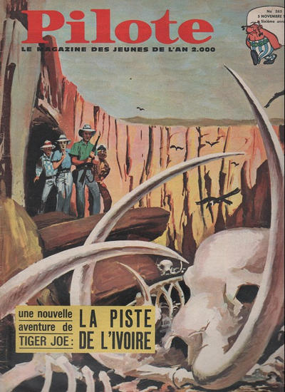 Cover for Pilote (Dargaud, 1960 series) #263