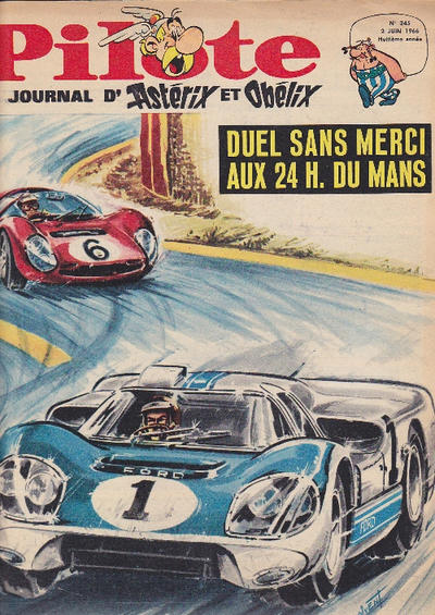 Cover for Pilote (Dargaud, 1960 series) #345