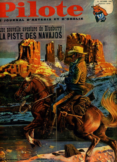 Cover for Pilote (Dargaud, 1960 series) #313