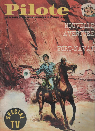 Cover for Pilote (Dargaud, 1960 series) #262