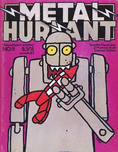 Cover for Métal Hurlant (Les Humanoïdes Associés, 1975 series) #9