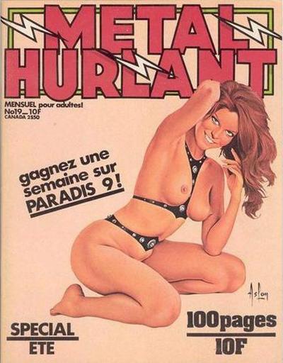 Cover for Métal Hurlant (Les Humanoïdes Associés, 1975 series) #19