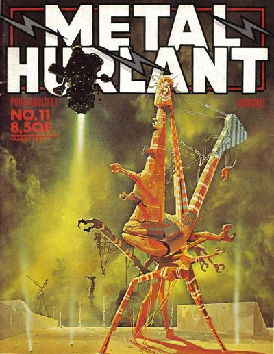 Cover for Métal Hurlant (Les Humanoïdes Associés, 1975 series) #11