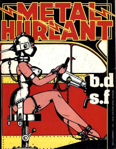 Cover for Métal Hurlant (Les Humanoïdes Associés, 1975 series) #23
