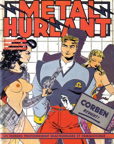 Cover for Métal Hurlant (Les Humanoïdes Associés, 1975 series) #28