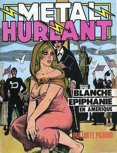 Cover for Métal Hurlant (Les Humanoïdes Associés, 1975 series) #40
