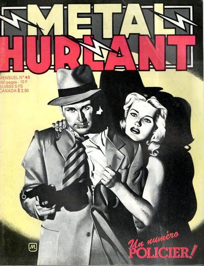 Cover for Métal Hurlant (Les Humanoïdes Associés, 1975 series) #43