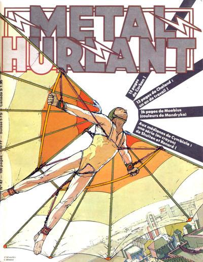 Cover for Métal Hurlant (Les Humanoïdes Associés, 1975 series) #47