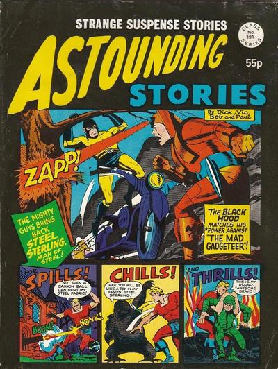 Cover for Astounding Stories (Alan Class, 1966 series) #191