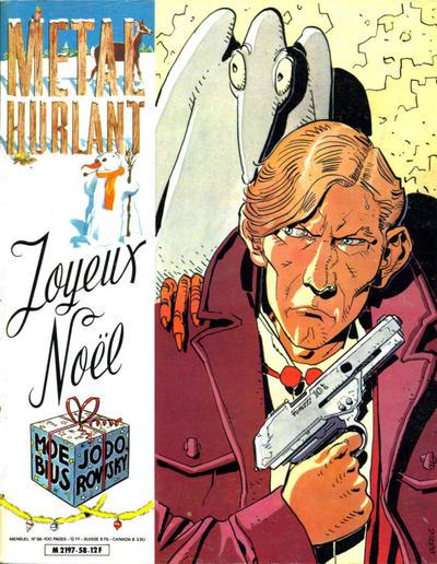 Cover for Métal Hurlant (Les Humanoïdes Associés, 1975 series) #58