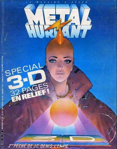 Cover for Métal Hurlant (Les Humanoïdes Associés, 1975 series) #83