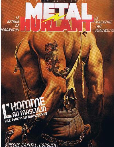 Cover for Métal Hurlant (Les Humanoïdes Associés, 1975 series) #84