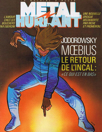 Cover for Métal Hurlant (Les Humanoïdes Associés, 1975 series) #86
