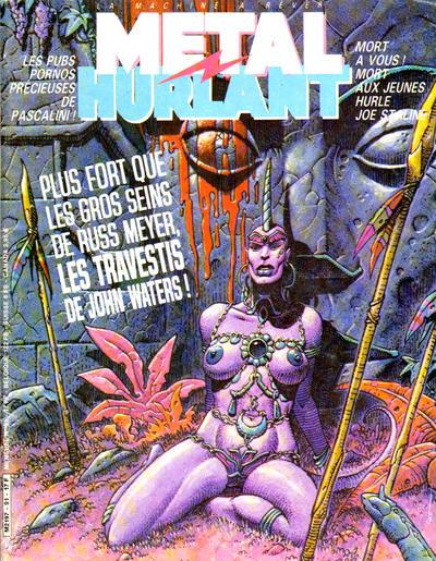 Cover for Métal Hurlant (Les Humanoïdes Associés, 1975 series) #91
