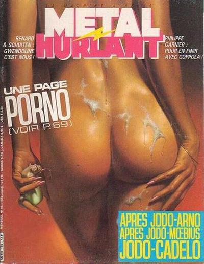 Cover for Métal Hurlant (Les Humanoïdes Associés, 1975 series) #95