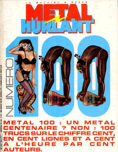 Cover for Métal Hurlant (Les Humanoïdes Associés, 1975 series) #100