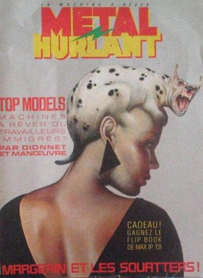 Cover for Métal Hurlant (Les Humanoïdes Associés, 1975 series) #108