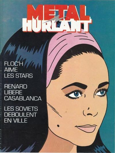 Cover for Métal Hurlant (Les Humanoïdes Associés, 1975 series) #116