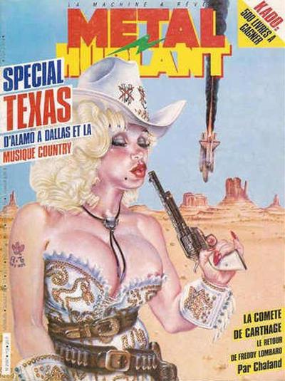 Cover for Métal Hurlant (Les Humanoïdes Associés, 1975 series) #113