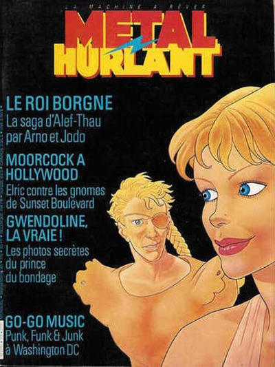 Cover for Métal Hurlant (Les Humanoïdes Associés, 1975 series) #115