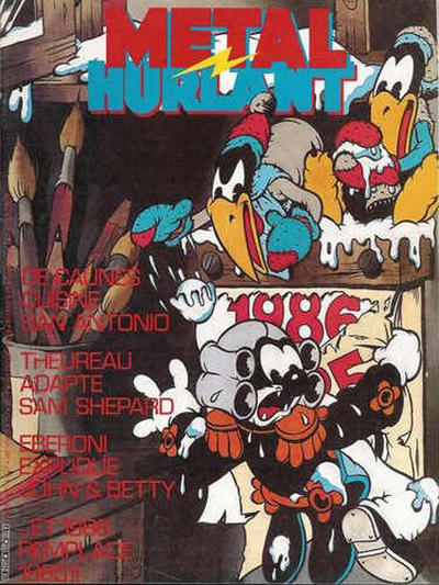 Cover for Métal Hurlant (Les Humanoïdes Associés, 1975 series) #117