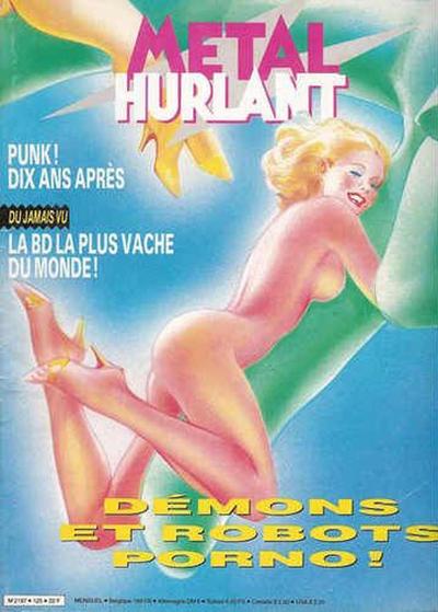 Cover for Métal Hurlant (Les Humanoïdes Associés, 1975 series) #125