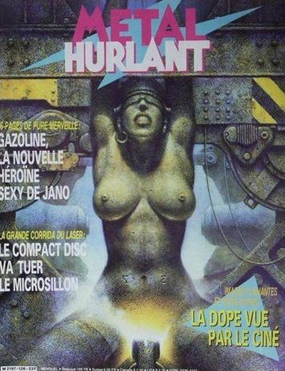 Cover for Métal Hurlant (Les Humanoïdes Associés, 1975 series) #126