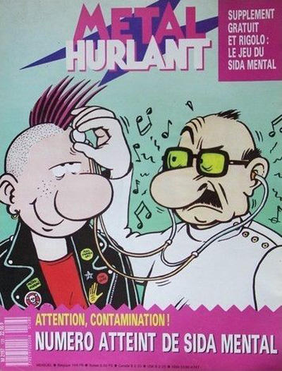 Cover for Métal Hurlant (Les Humanoïdes Associés, 1975 series) #128