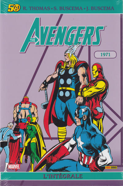 Cover for Avengers : L'intégrale (Panini France, 2006 series) #1971