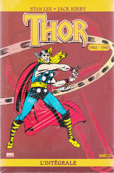 Cover for Thor : l'intégrale (Panini France, 2007 series) #4