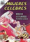 Cover for Mujeres Célebres (Editorial Novaro, 1961 series) #31 [Venta en España]
