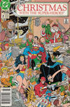 Cover for Christmas with the Super-Heroes (DC, 1988 series) #2 [Newsstand]