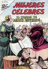 Cover for Mujeres Célebres (Editorial Novaro, 1961 series) #32 [Venta en España]