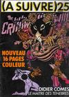 Cover for (À Suivre) (Casterman, 1977 series) #25