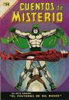 Cover for Cuentos de Misterio (Editorial Novaro, 1960 series) #108