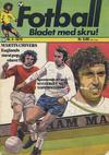 Cover for Fotball (Illustrerte Klassikere / Williams Forlag, 1973 series) #4/1974