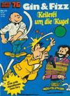 Cover for Kauka Super Serie (Gevacur, 1970 series) #76 - Gin und Fizz - Keilerei um die Kugel