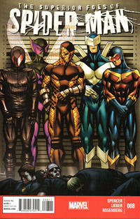 Cover Thumbnail for The Superior Foes of Spider-Man (Marvel, 2013 series) #8