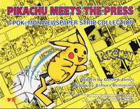 Cover Thumbnail for Pikachu Meets the Press: A Pokémon Newspaper Strip Collection (Viz, 2001 series)