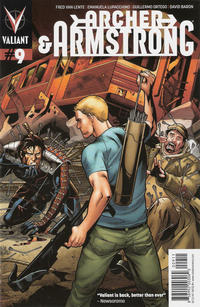 Cover Thumbnail for Archer and Armstrong (Valiant Entertainment, 2012 series) #9 [Cover A - Emanuela Lupacchino]